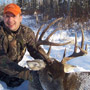 Big 10 point Manitoba Whitetail